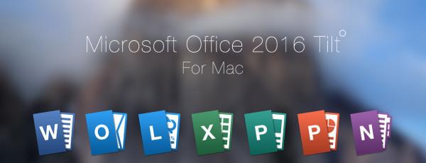 Conoce y descarga Office 2016 para OS X